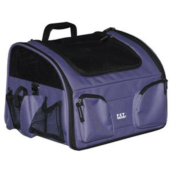 3-in-1 Convertible Pet Carrier/Bike Basket/Car Seat - Lavender