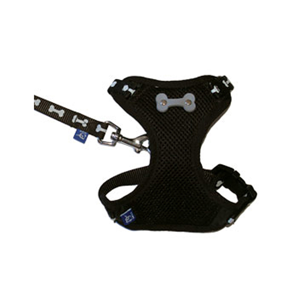 ActiveGo Bone Harness by Dogo - Black