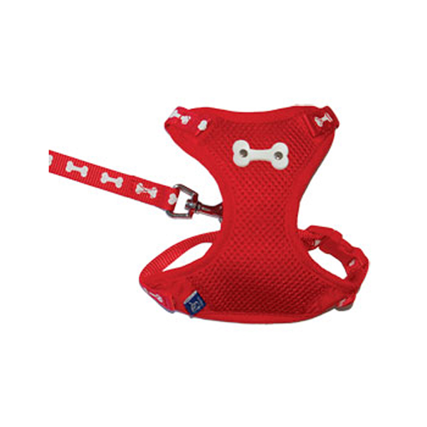 ActiveGo Bone Harness by Dogo - Red