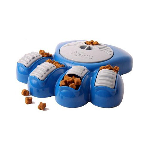 Aikiou Dog Feeding Toy - Blue and Gray