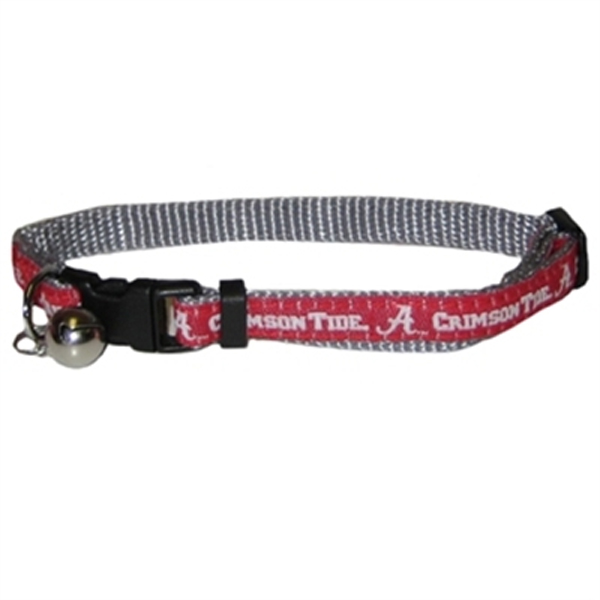 Alabama Crimson Tide Cat Collar