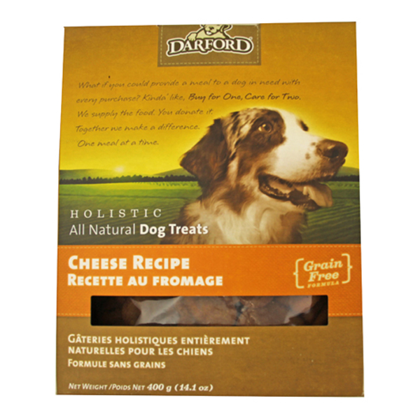 All-Natural Holistic Dog Treats - Cheese Recipe