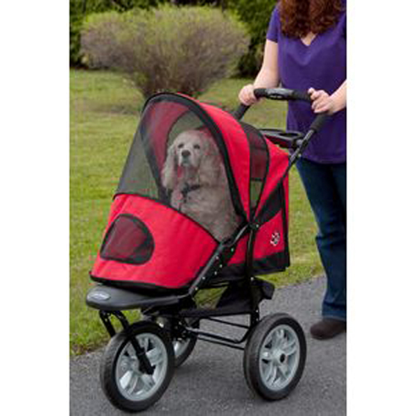 All Terrain AT3 Pet Stroller - Red Poppy