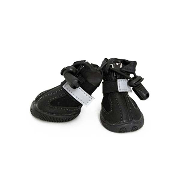 All Weather Dog Boots - Black