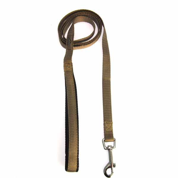 American River Cushion Grip Dog Leash - Tan
