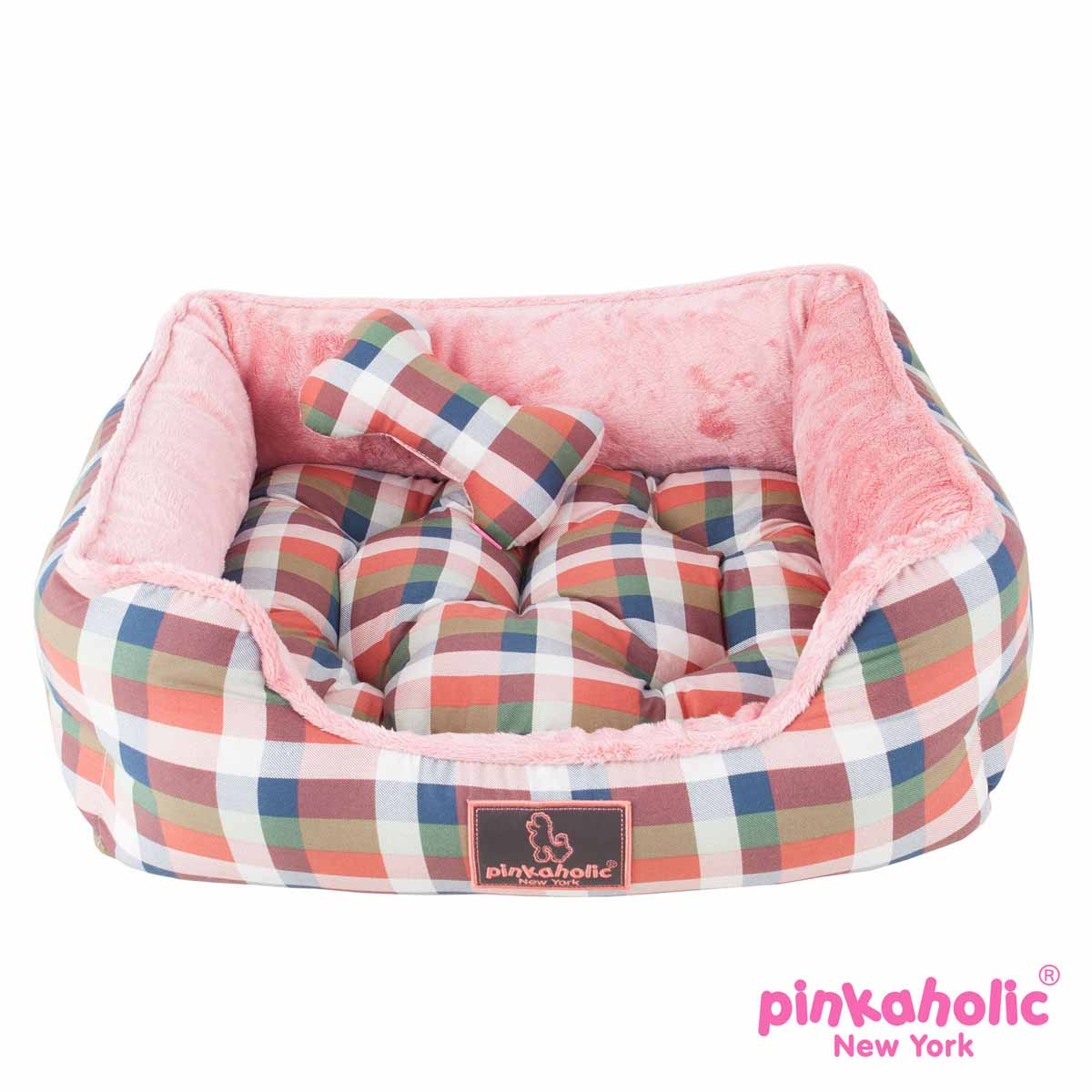 Amorette House Dog Bed By Pinkaholic Orange Baxterboo
