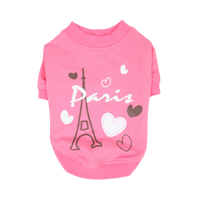 Amour Dog Shirt by Puppia - Pink