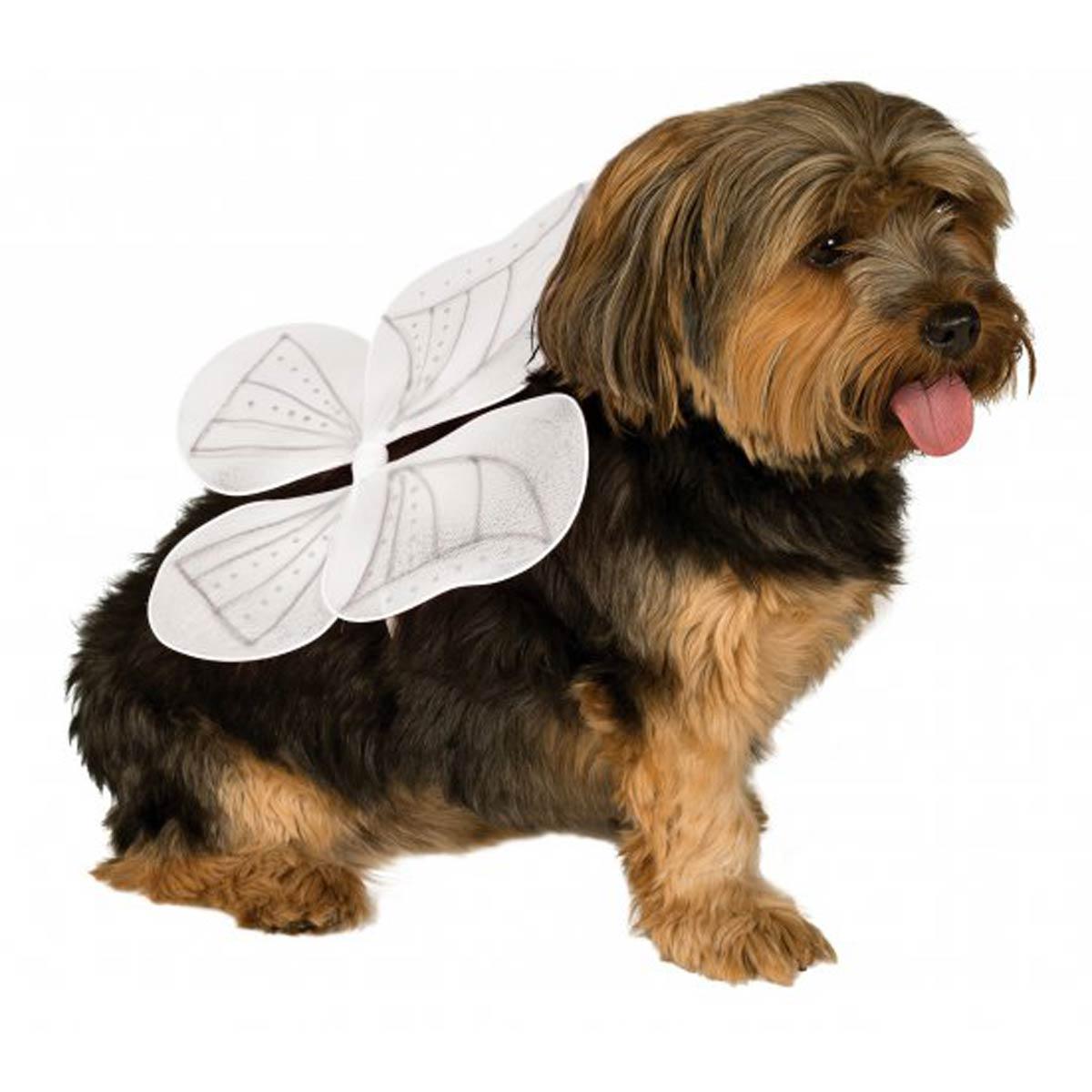 Dog Angel Costume Large