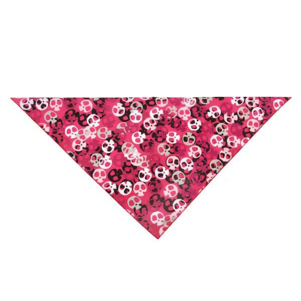 Aria Bone Heads Bandana - Pink