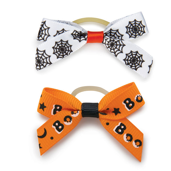 Aria Midnight Magic Dog Bows