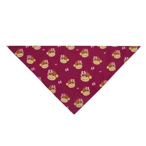 Aria Monkey Business Dog Bandana - Tiff