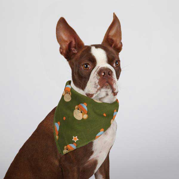 Aria Monkey Business Dog Bandana - Ty