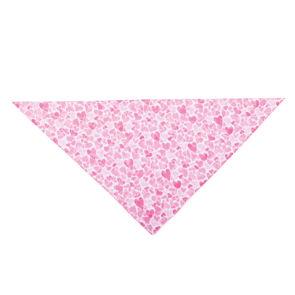 Aria Sweetheart Chiffon Bandana - Pink