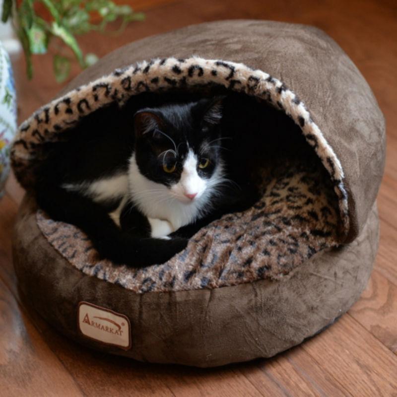 Armarkat Cozy Pet Bed , Mocha and Beige advise