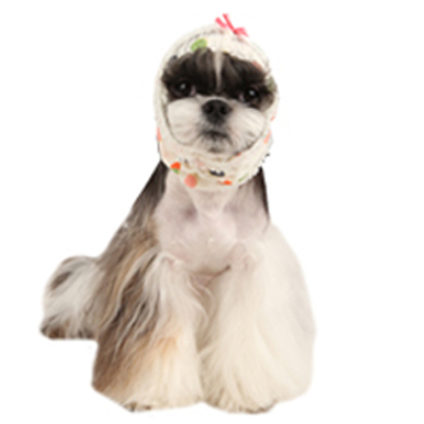 Artwork Dog Snood by Pinkaholic - Ivory