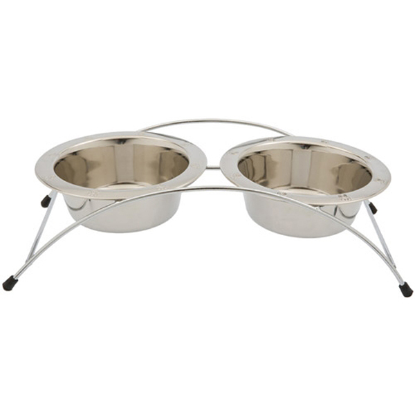 Aruba Arched Stainless Steel Pet Diner