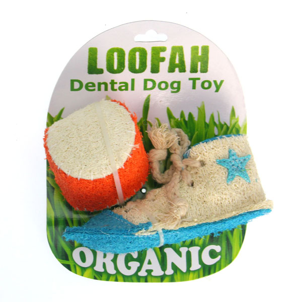 Loofah Dental Dog Toy Reviews