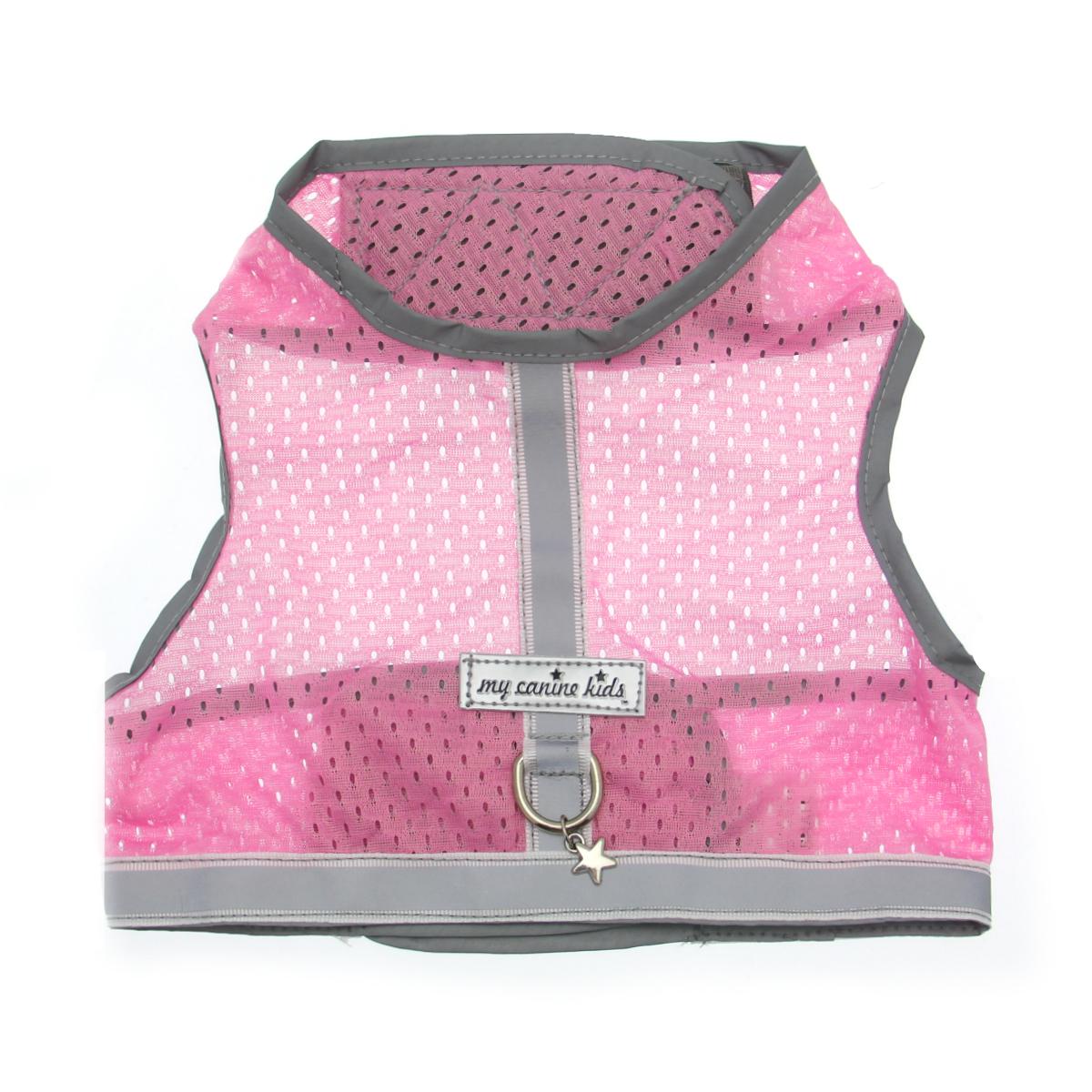 Athletic Mesh Dog Vest Harness - Pink