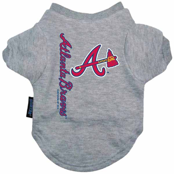 Atlanta Braves Dog T-Shirt