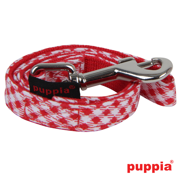 Atticus Dog Leash by Puppia - Red