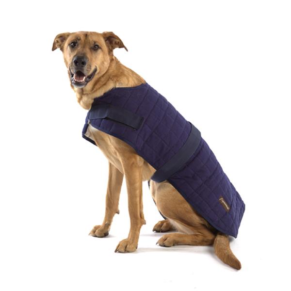 Aussie Naturals Breathable Waterproof Dog Coat - Navy