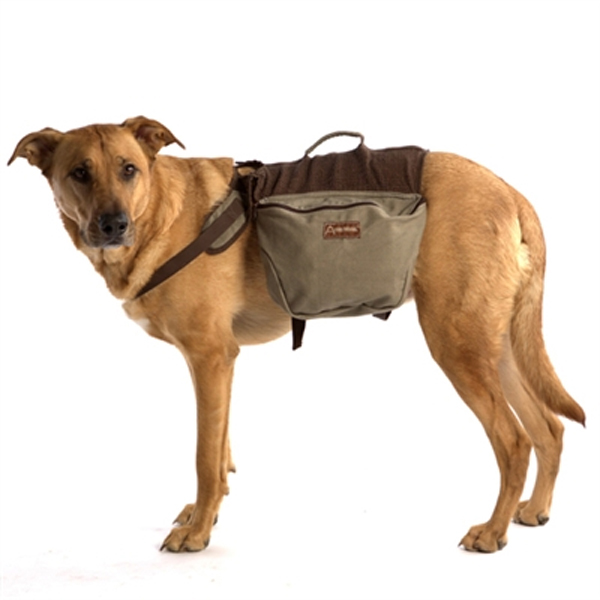 Aussie Naturals Cotton Dog Backpack