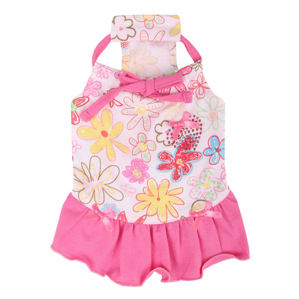 Babe Dog Dress by Pinkaholic - Pink