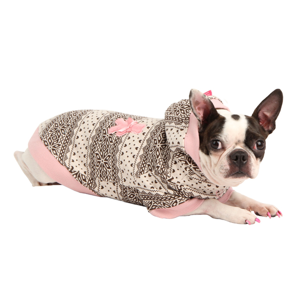 Baby Bear Dog Hoodie by Pinkaholic - Pink