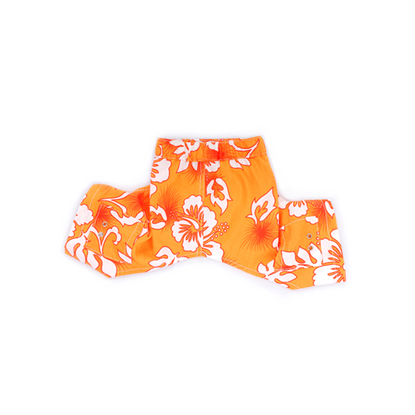 Bahamas Dog Swim Trunks - Orange