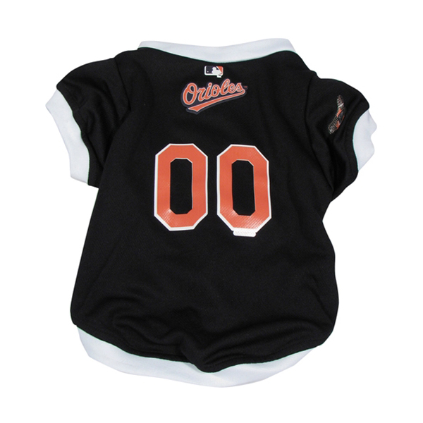 Baltimore Orioles Baseball Dog Jersey