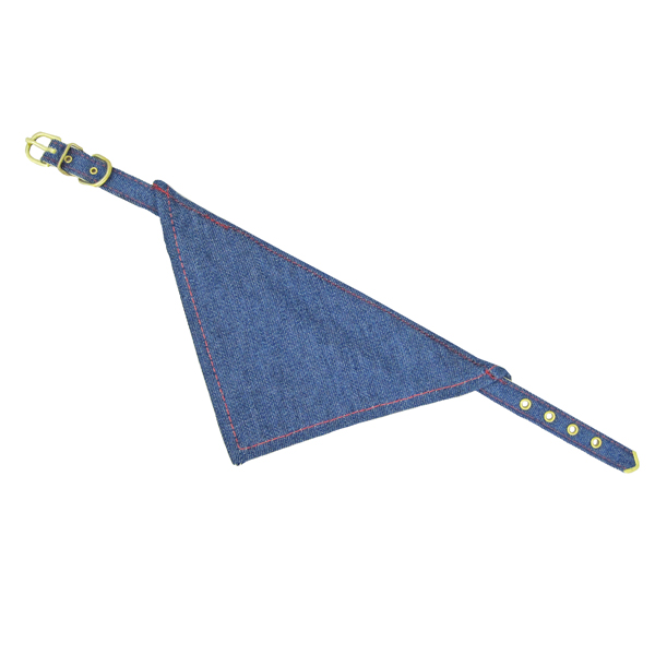 Bandana Dog Collar - Denim