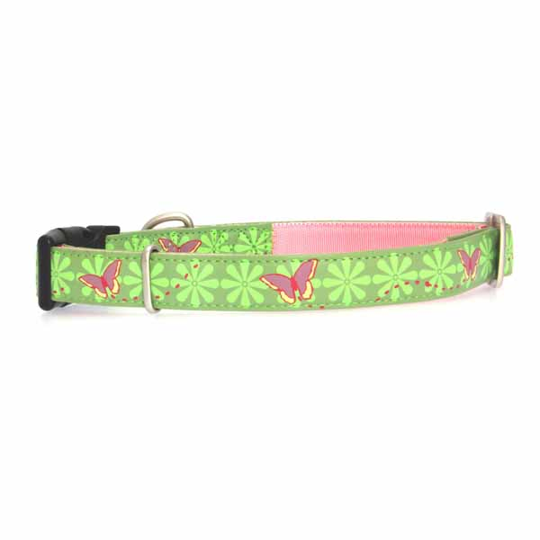 Bark Avenue Dog Collar - Beautiful Butterflies