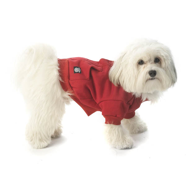 Barkley's Cozy Dog Sweatshirt - Red
