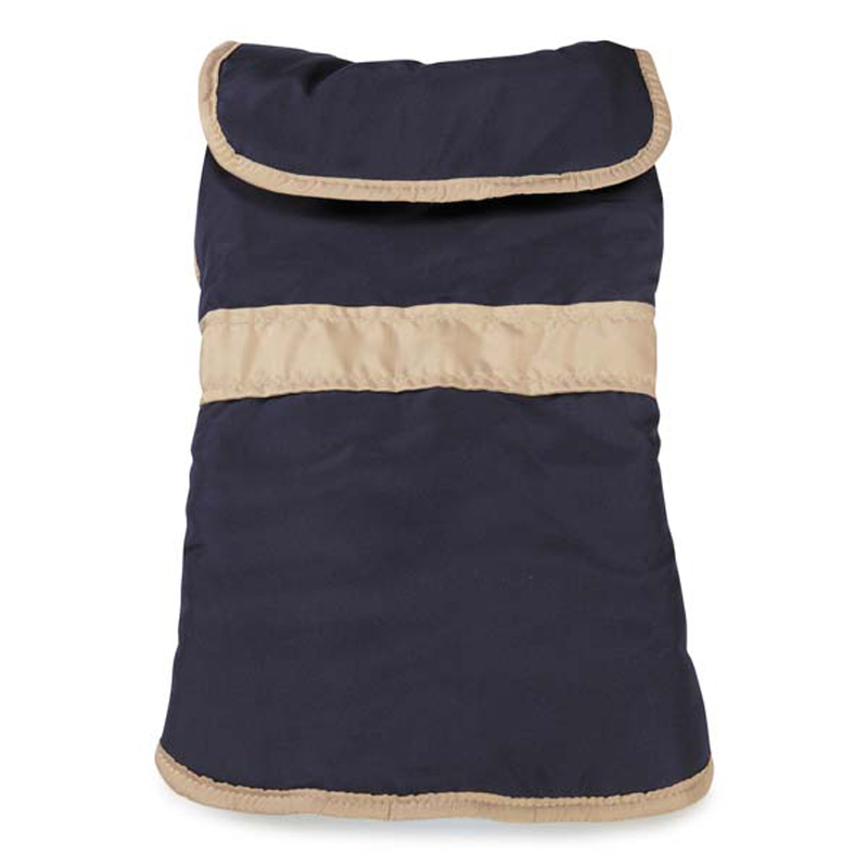 Barn Dog Coat with Contrast Trim - Navy