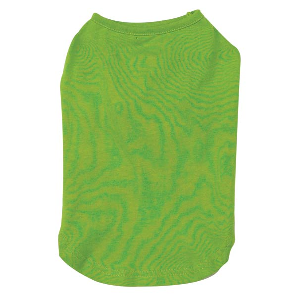 Basic Dog Tank - Parrot Green