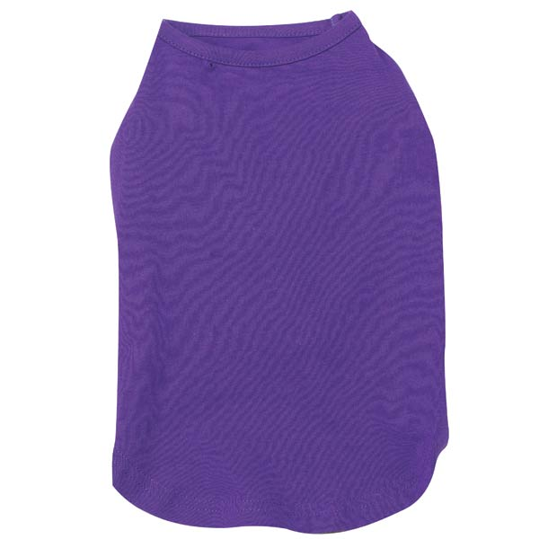 Basic Dog Tank - Ultra Violet