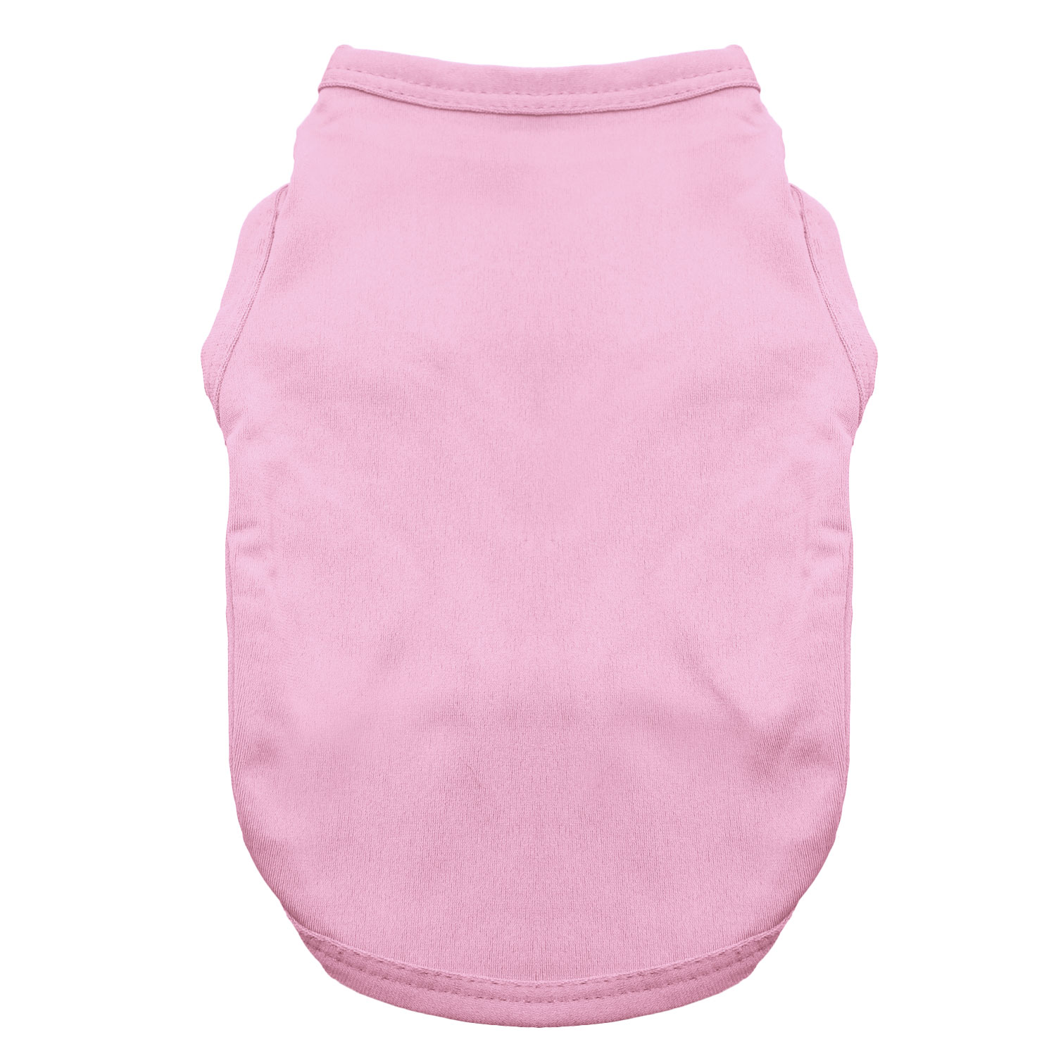 Basic Tank Dog Shirt - Candy Pink