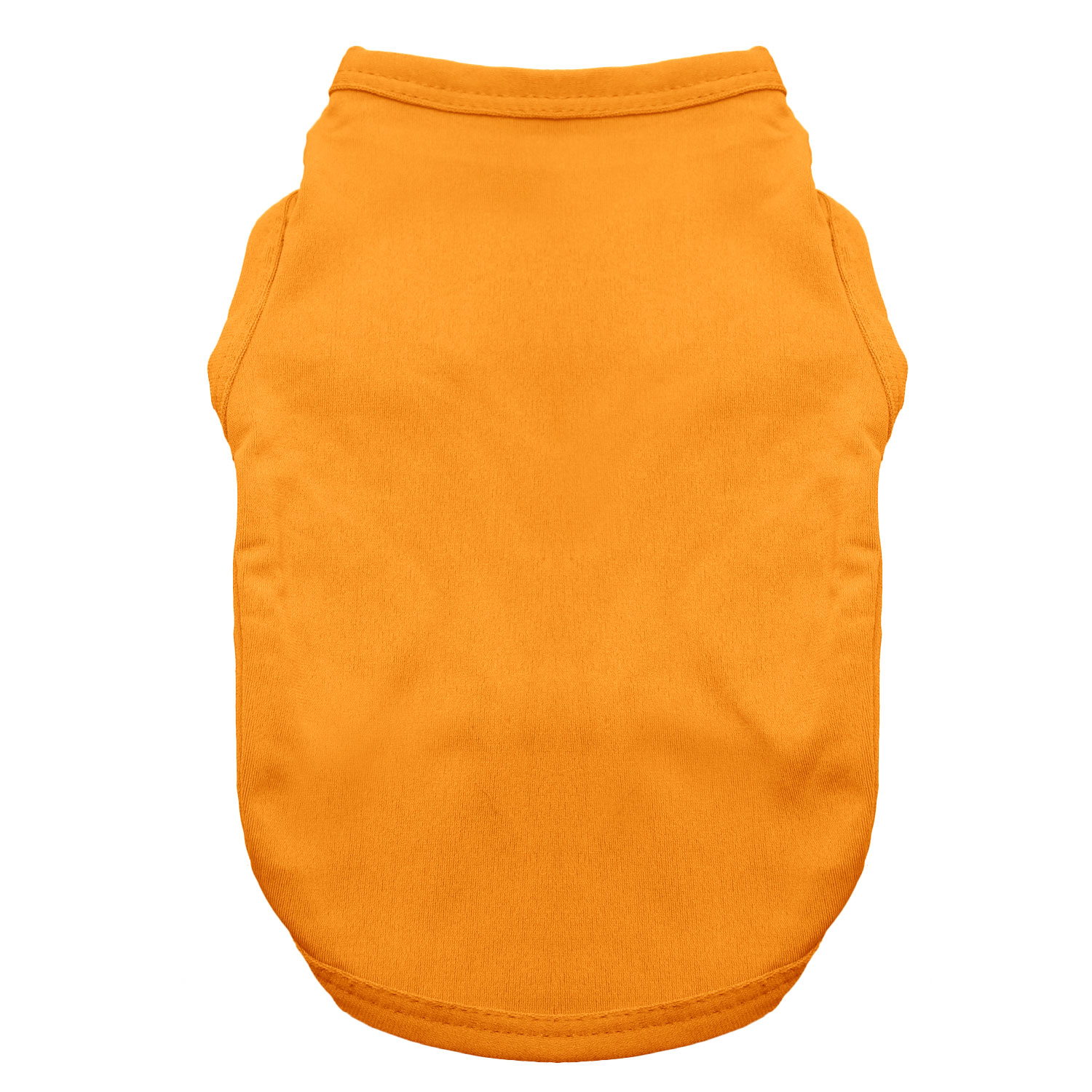 Basic Tank Dog Shirt - Orange Popsicle