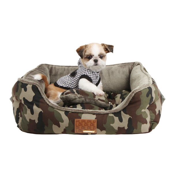 Battlefield Dog Bed by Puppia - Camo