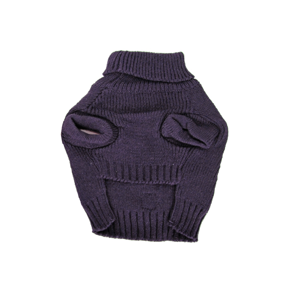 Baxter's Basic Dog Sweater - Plum