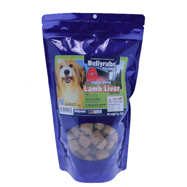 Bellyrubs Freeze-Dried Lamb Liver Bites