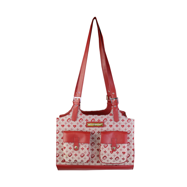 Betty Boop Dog Carrier - Red