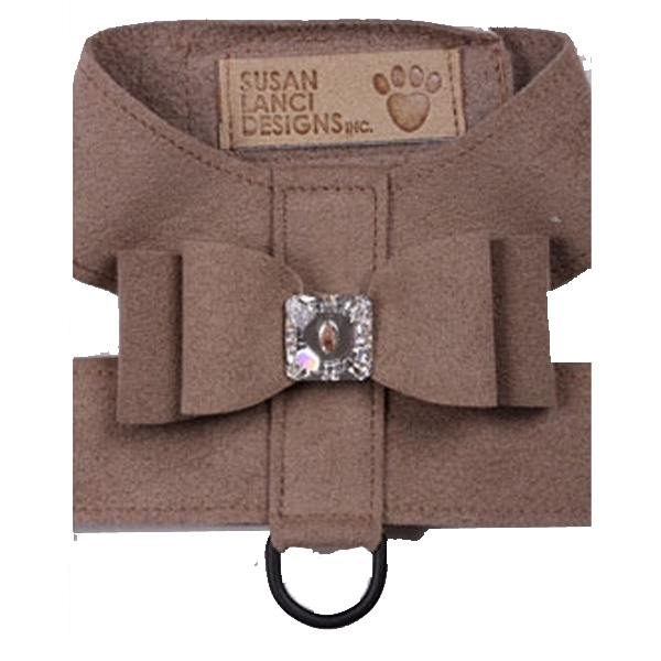 Big Bow Dog Harness by Susan Lanci - Fawn