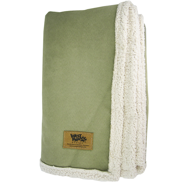 Big Sky Dog Blanket - Fern Green