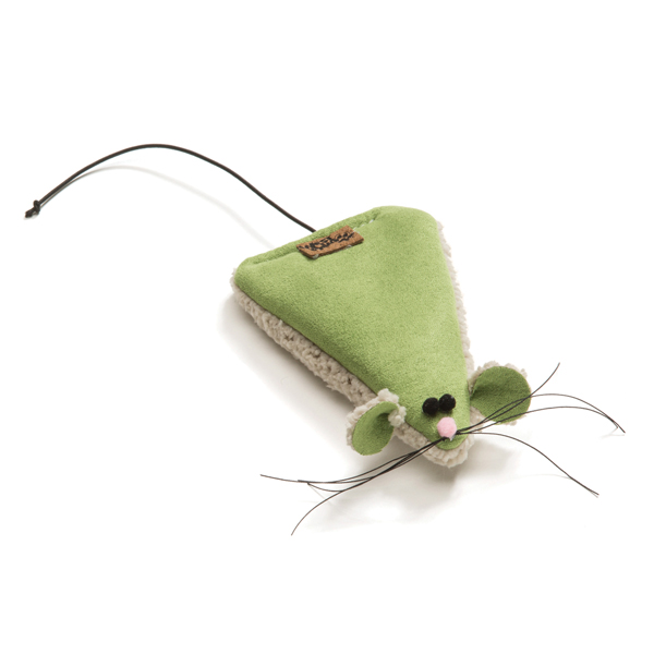 Big Sky Mouse Cat Toy - Jade Green