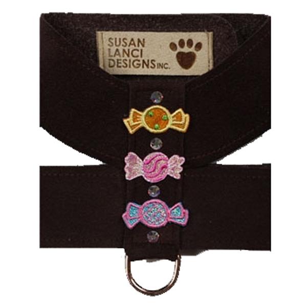 Black Candy Dog Harness by Susan Lanci