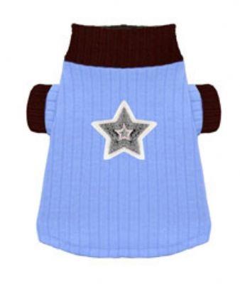 Blue Star Turtleneck by Hip Doggie