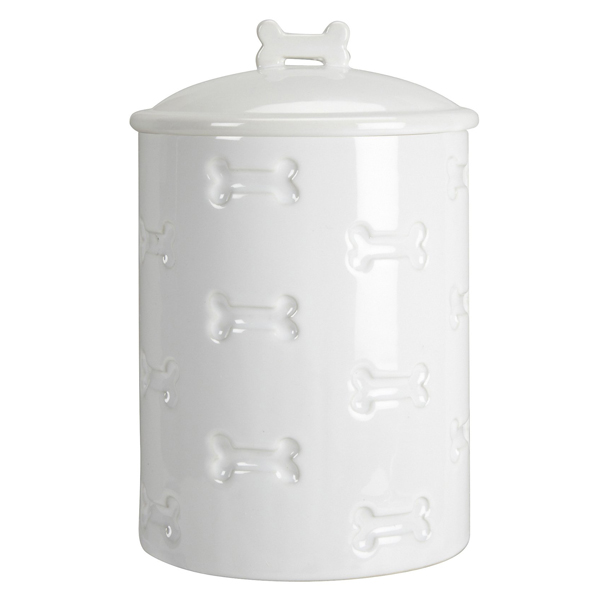 Bone Appetit Dog Treat Canister