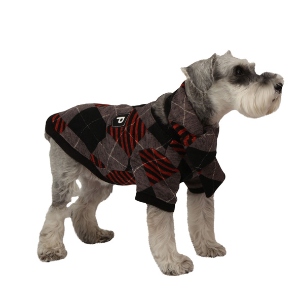 Boost Dog Shirt by Puppia - Black