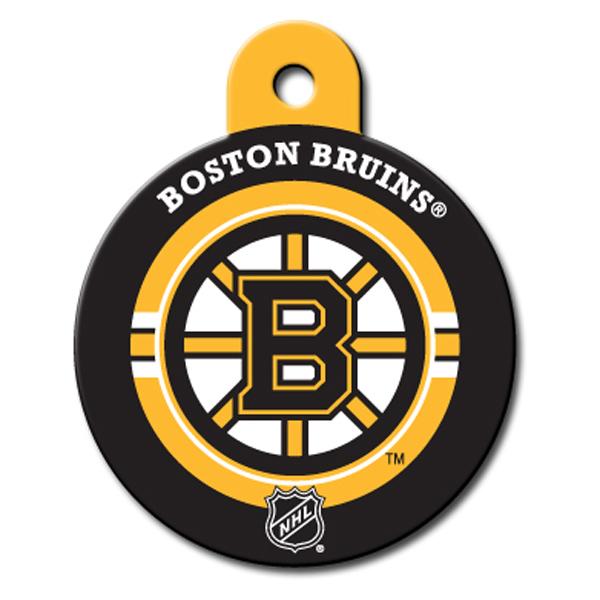 Boston Bruins Engravable Pet I.D. Tag